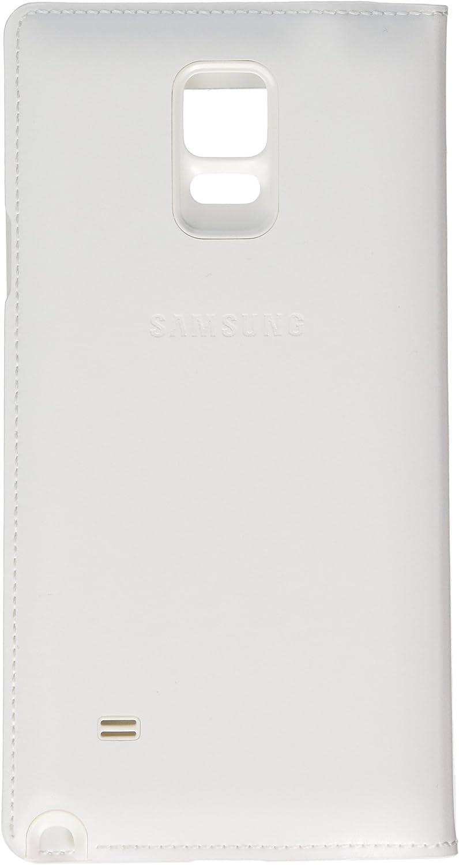 SAMSUNG EF-CN910FT - Funda Galaxy Note 4, Color Blanco