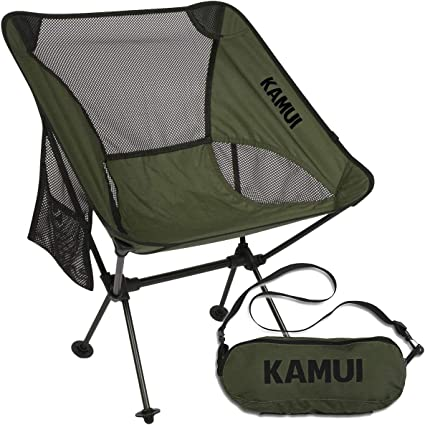 Hiking Fishing Travel Beach Backpacking Xcellent Global Mini Portable Aluminum Alloy Folding Stool for Camping