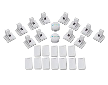 Child Baby Proofing Locks Magnetic Safety 10 Lock 2 Keys Easy Install Childproof