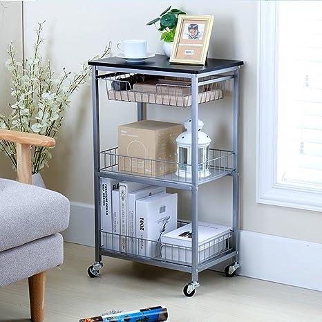Kitchen furniture Mobili da cucina Carrello mobile con scaffale a ...