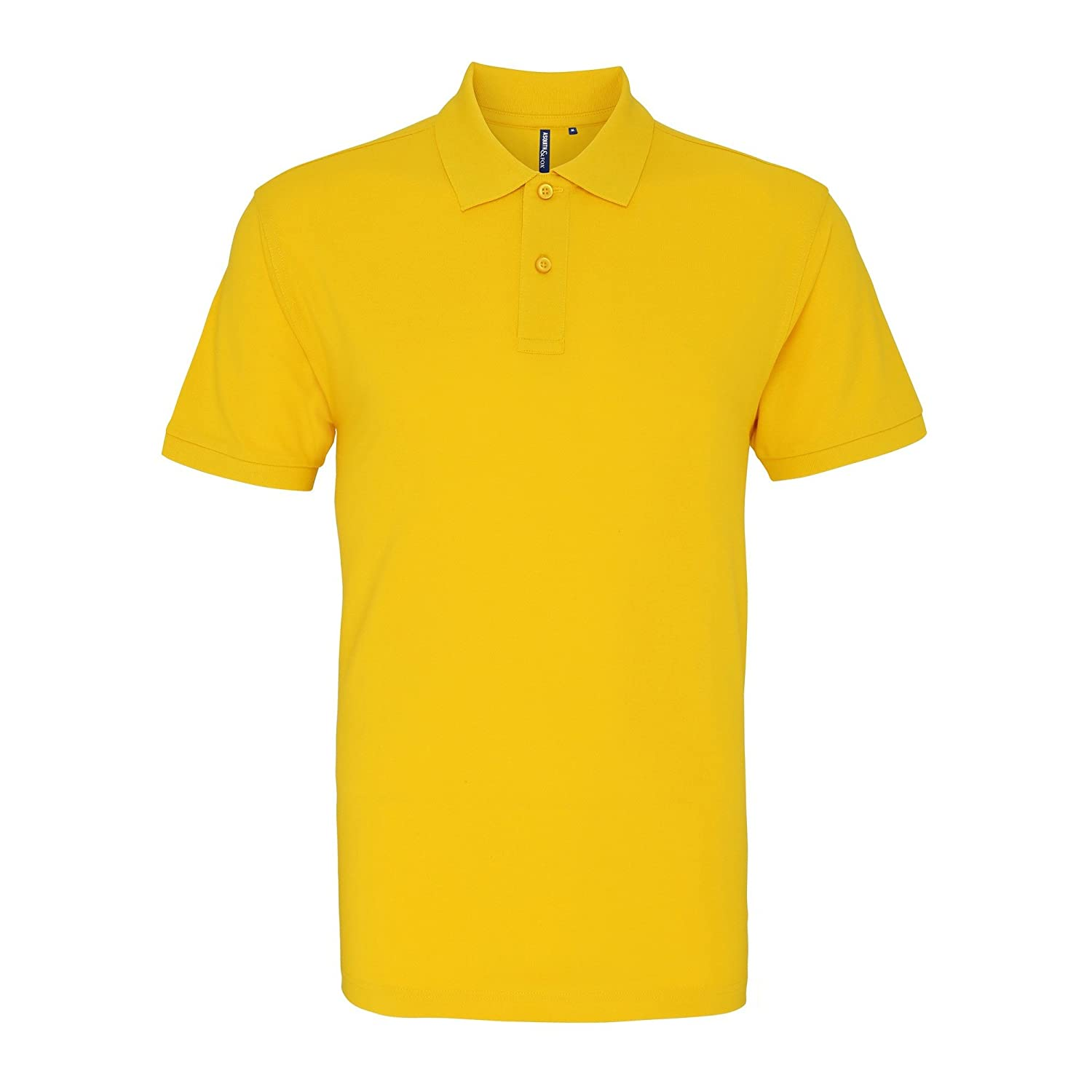 Asquith & Fox Asquith and Fox Mens Polo, Amarillo (Sunflower 000 ...
