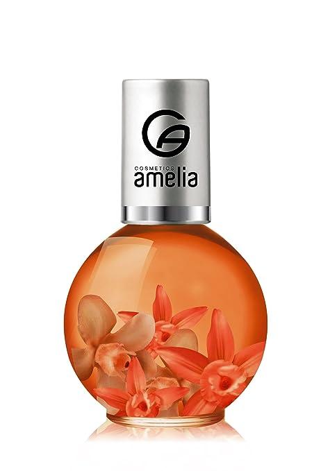 Amelia Cosmetics Aceite Cutícula Aroma Mango - 5 Recipientes de 11.60 ml - Total: 58