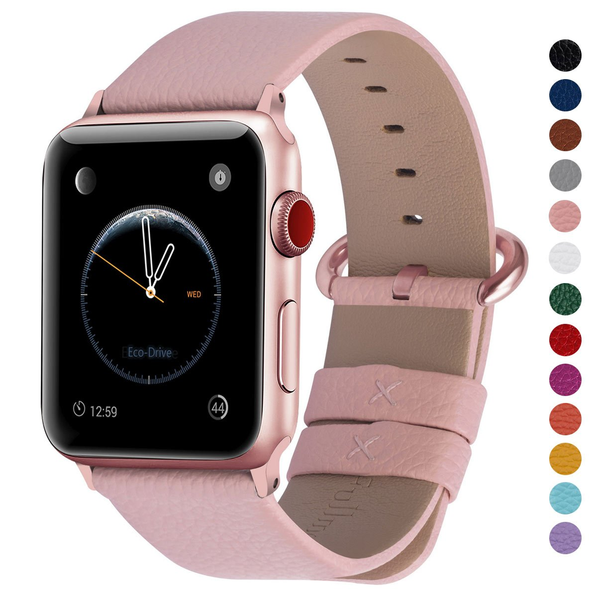 Malla Cuero para Apple Watch (38/40mm) FULLMOSA [77YF6JJM]