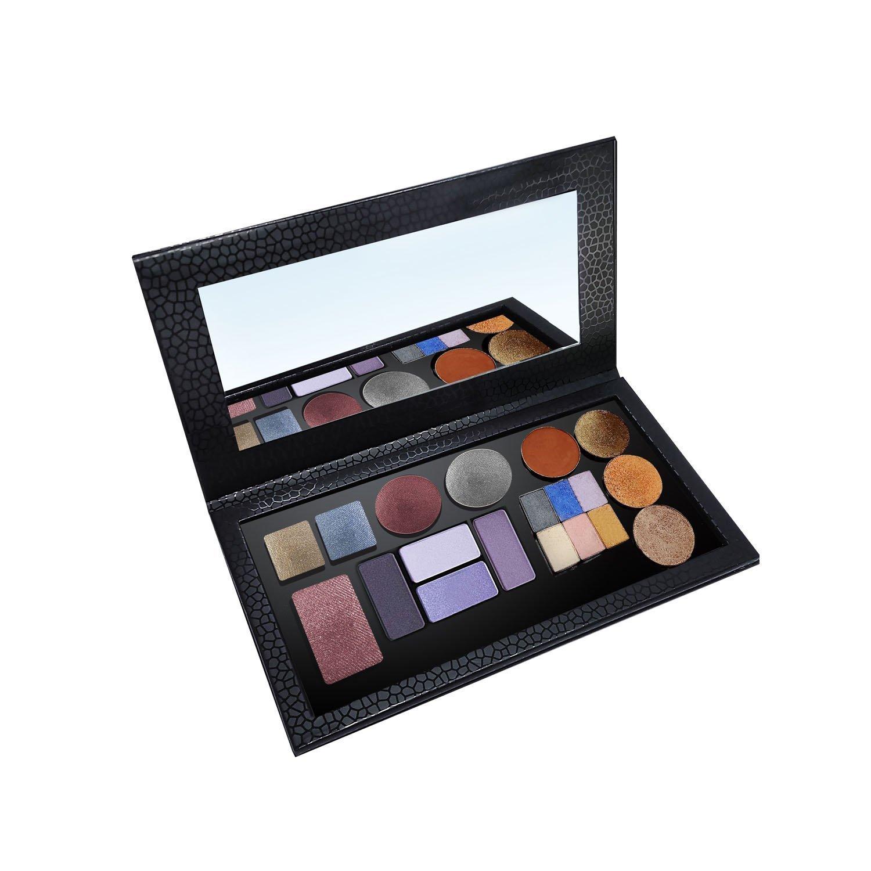 e70f4fadfc2c Allwon Tavolozza magnetica Ombretto vuoto Makeup Palette con specchio per  ombretto Rossetto Blush in polvere (nero): Amazon.it: Bellezza