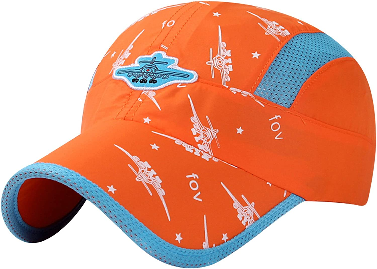 Home Prefer Kids Lightweight Quick Drying Sun Hat Airy Mesh UV Protection Caps