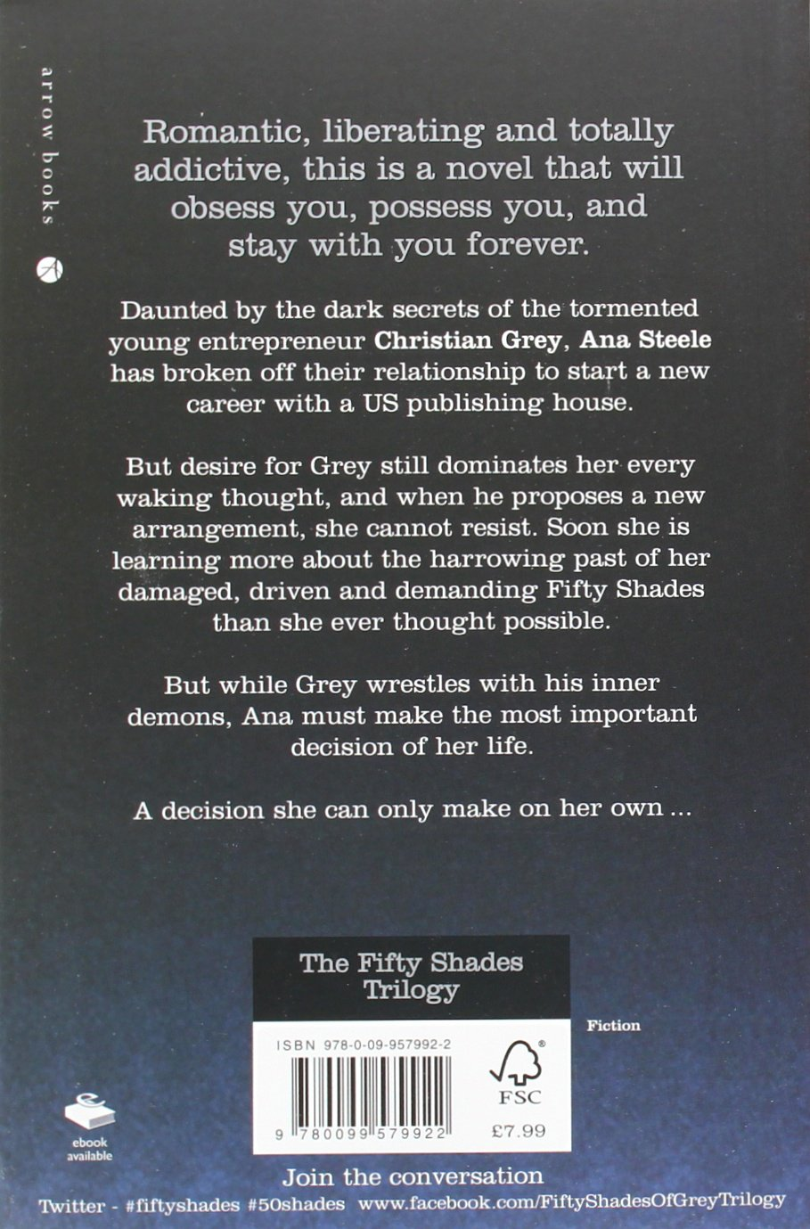 fifty shades trilogy boxed set amazon co uk e l james fifty shades trilogy boxed set amazon co uk e l james 9780099580577 books