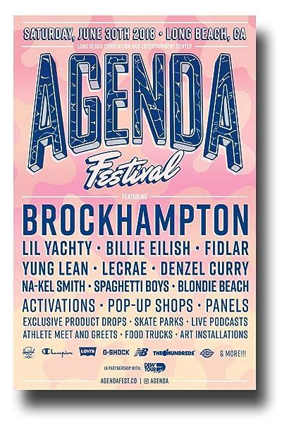 Amazon.com: Brockhampton Poster Concert Promo 11 x 17 inches ...