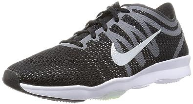 602a25f0592e51 Nike Women s Air Zoom Fit 2 Training Shoe Black Grey White Size 7 M