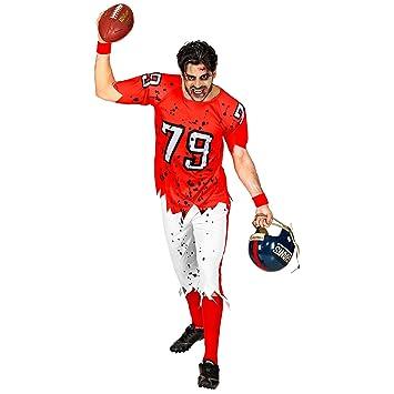 WIDMANN 03153 - Disfraz de Zombie American Football Player, para ...
