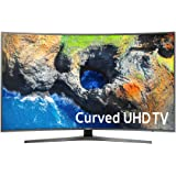 Samsung Electronics UN55MU7500 Curved 55-Inch 4K Ultra HD Smart LED TV (2017 Model)