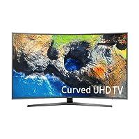 Samsung Electronics UN55MU7500 Curved 55-Inch 4K Ultra HD Smart LED TV (2017 Model)