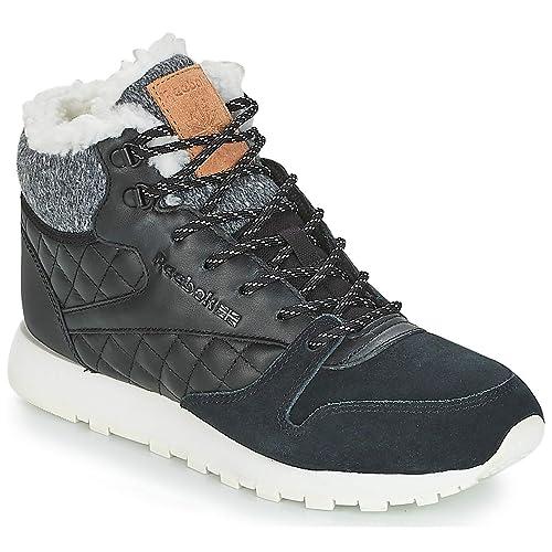 REEBOK Classic Classic Leather Artic Boot Zapatillas Moda Mujeres Negro Zapatillas Altas: Amazon.es: Zapatos y complementos
