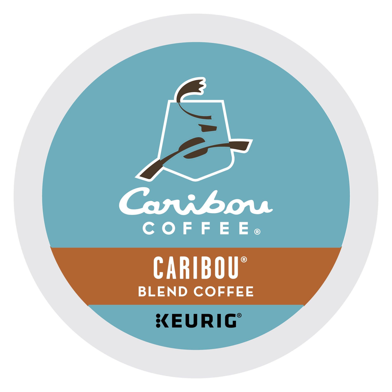 Caribou Coffee Caribou Blend, Single Serve Coffee K-Cup Pod, Medium Roast, 32