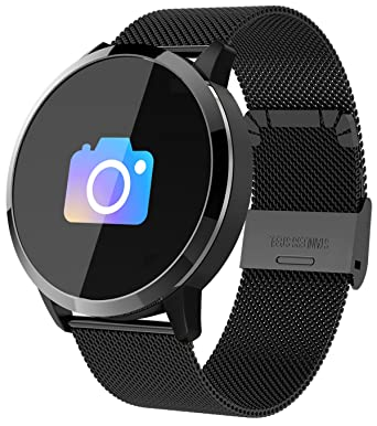 Fitness Tracker Bluetooth Smart Watch Heart Rate Blood Pressure Pedometer Calorie Activity Tracker