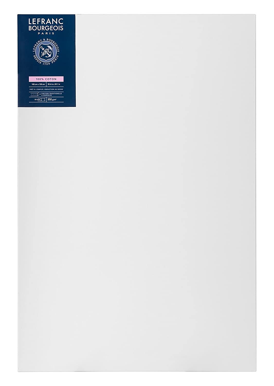 spessore 1,9 cm 100 x 150 cm Lefranc Bourgeois Telaio telato 100/% Cotone