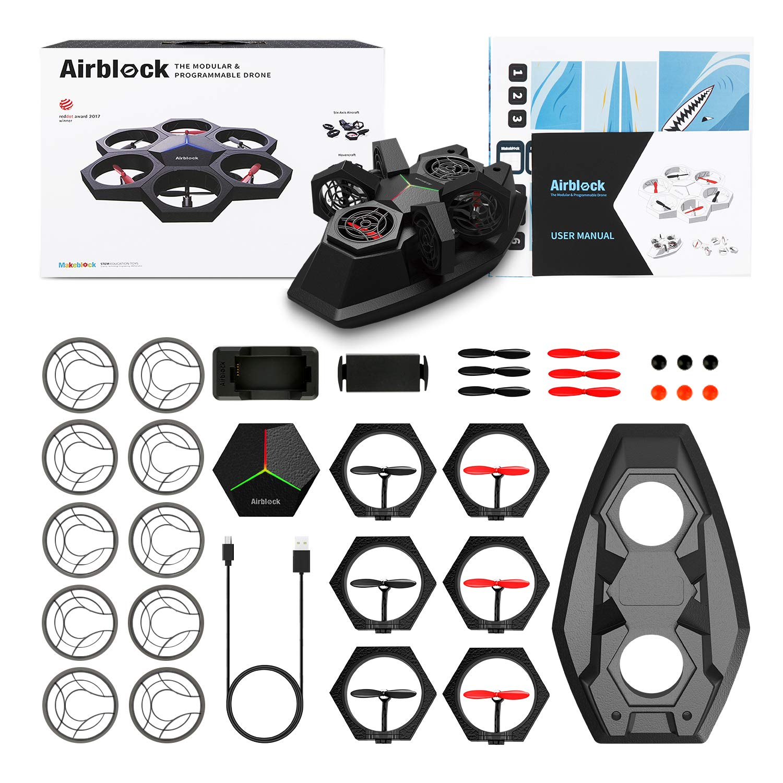 Airblock Makeblock - Drone 3 en 1: Amazon.es: Juguetes y juegos