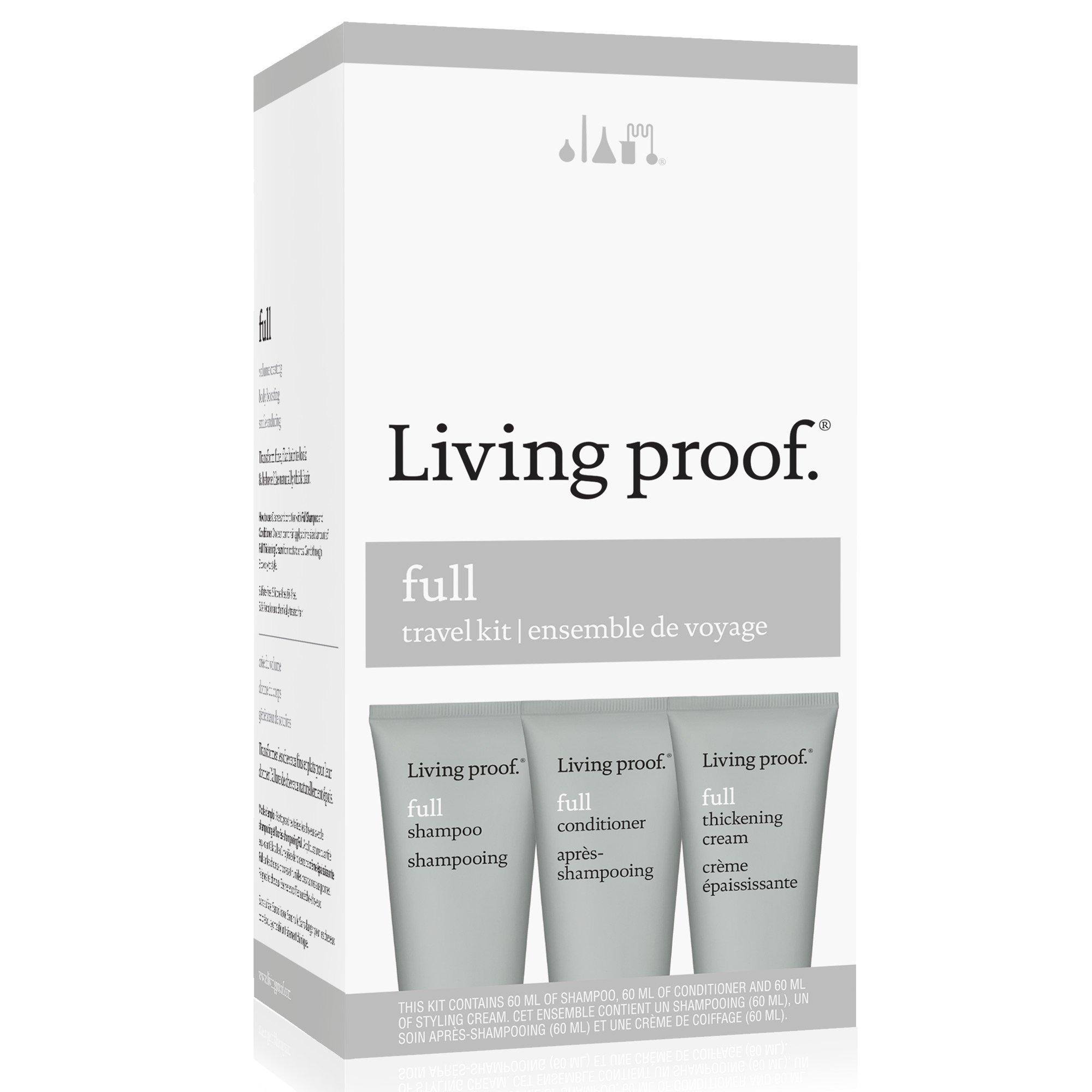 Living Proof Full Travel Kit, 3 Count
