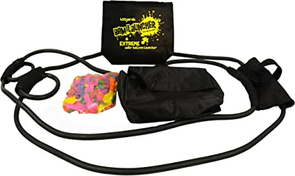 300 Yard 3 Person Water Balloon Launcher SlingshotFree Balloons Included Bam Launcher