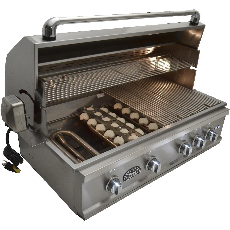 Amazon.com: Sole Lujo TR 38-Inch integrado propano Gas ...