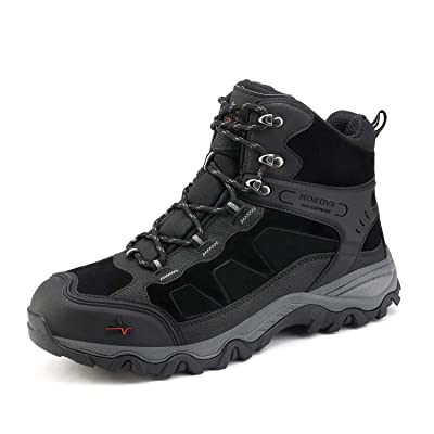 NORTIV 8 Men's Waterproof Snow Winter Hiking Boots Outdoor Mid Trekking Backpacking Mountaineering Shoes | Hiking Boots