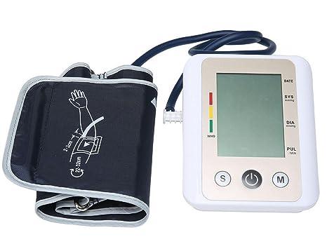 HRRH automático presión Arterial Arm Inteligente Tensiómetro Voz Pantalla Grande Salud Monitor Portable Medicina BGE Pulse