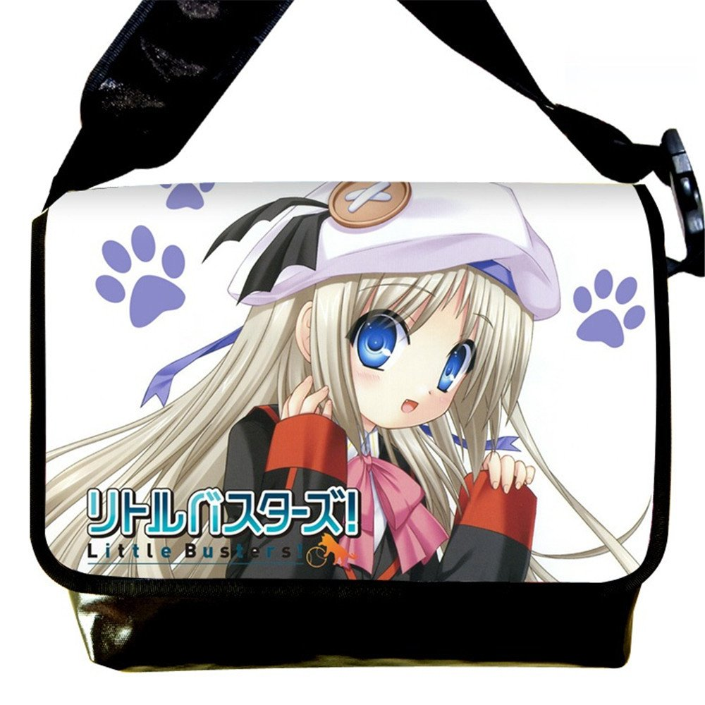 Siawasey Little Busters Anime Rin Natsume Cartoon Cosplay Messenger Bag Shoulder Bag