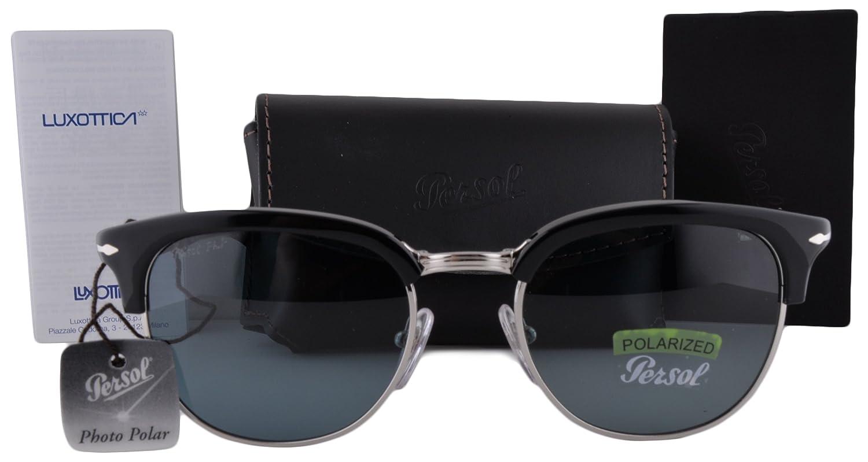 Persol PO3132S gafas de sol w/polarizado azul de la foto de ...