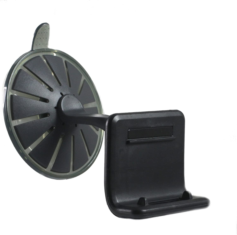 Navitech Auto Windscheiben 360 Grad Rotierbare Feste Griff Saug Napf Montierung kompatibel mit dem Tomtom GO LIVE 1000 1005 1015 1050 2405 2435 2505 PRO 7100 7150 9100 9150 T TM WTE Live World
