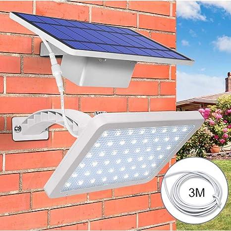 Solar Light 3 LED Gutter Fence Patio Corridor Lamp Outdoor Safety Garden Light