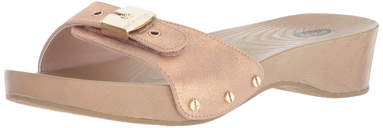 Dr. Scholl's Shoes Women's Classic Slide Sandal B0767TR7J4 11 B(M) US|Rose Gold Splatter