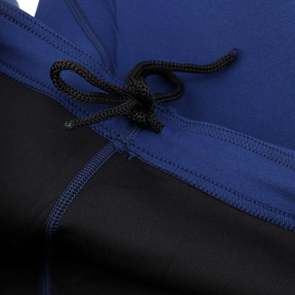 Perfk Herren Bademode Neopren Jacke Rash Guard Shirts Langarm Langarm Langarm Badeshirt Schwimmshirt mit Neoprenhose Schwimmhose Neopren Pants B07C1XHNMG Neoprenanzüge Charmantes Design 30fd68