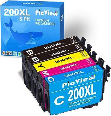 PicView - Cartucho de Tinta remanufacturado para Epson 200 200XL ...