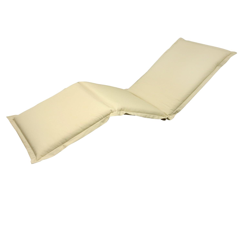 indoba® IND-70455-AUSL - Serie Premium - Auflage Gartenliege - extra dick, Beige