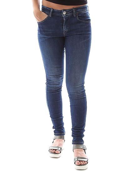 newest 3dfb5 2db09 Fornarina BER1I34D781XP3 Jeans Women Blue 30: Amazon.co.uk ...