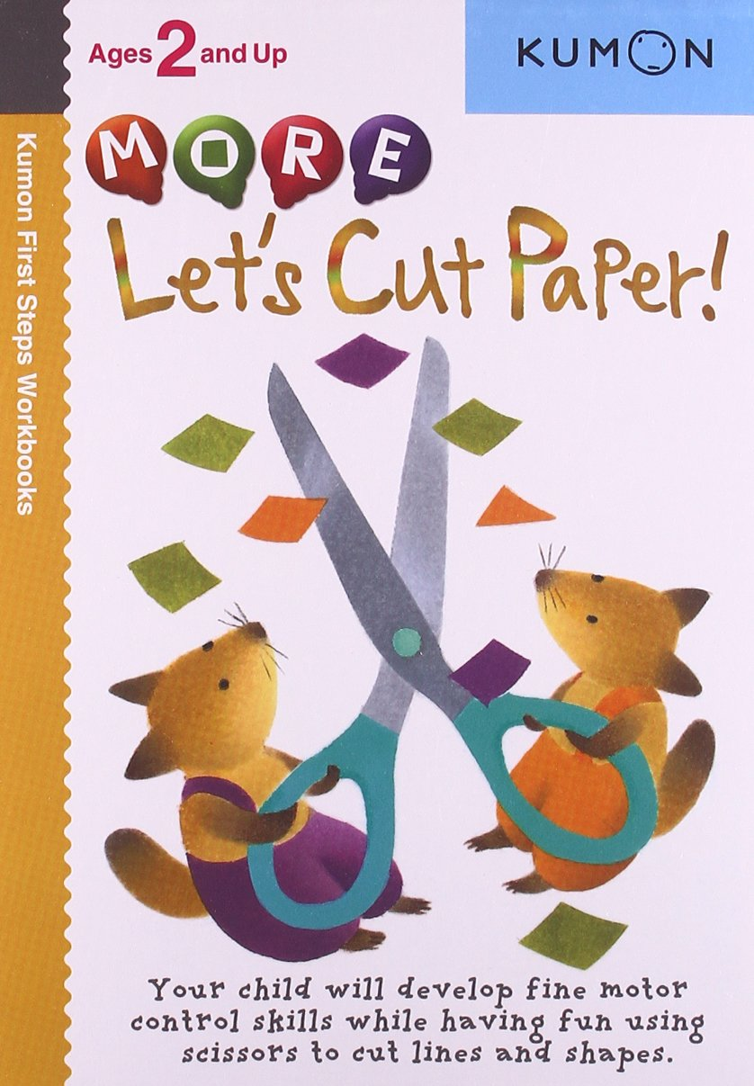 Workbooks buy kumon workbooks : More Let's Cut Paper! (Kumon First Steps Workbooks): Amazon.co.uk ...