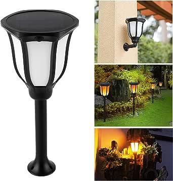 Antorcha LED Lámpara Solar Lámpara de Jardín Lámpara Solar Antorchas de Jardín de 1 Pieza con Llamas Realistas y Montaje en pared IP65 Impermeable Encendido/Apagado Automático: Amazon.es: Iluminación