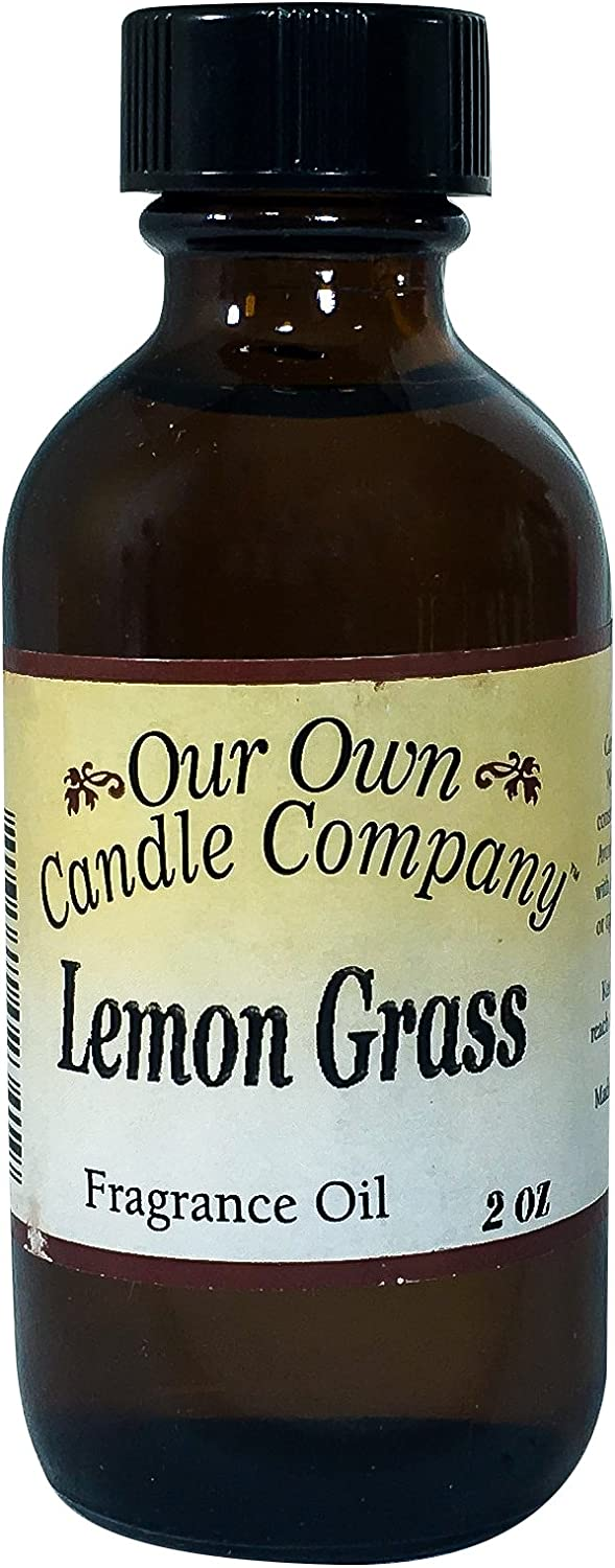 Our Own Candle Company Fragrance Oil, Lemongrass, 2 oz