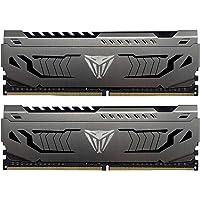 Patriot Viper Steel Series 16GB (2 x 8GB) PC4-17000 2133MHz DDR4 288-Pin Desktop DIMM Memory (PVS416G413C9K)