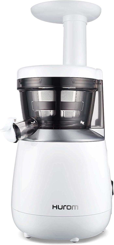 Hurom HP Slow Juicer, White (Renewed)