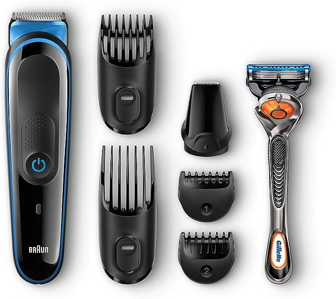 Braun MGK3045 - Afeitadora (Máquina de afeitar de láminas, Acero ...