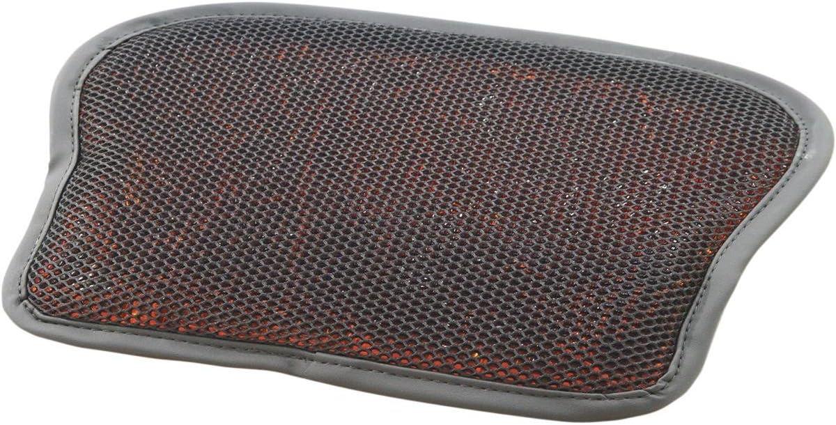 Motorcycle Gel Pad Seat Cushion Rear Pillion 11 X 9 Back Passenger Shock Absorbtion Material Comfortable Memory Foam Padding fits Yamaha V Star Road Models