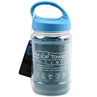 Pursuit Stay Cool Ice Enduring Gym Sports Jogging Cooling Towel Chilly Pad Blue