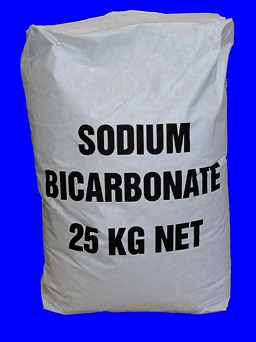 Bicarbonato de sodio (25 kg): Amazon.es: Hogar