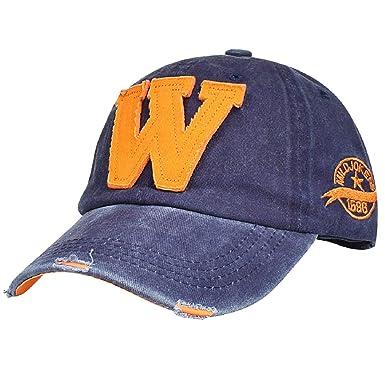 Retro Baseball Kappe Cap Basecap Mütze Baseballcap Mützen Hut Herren Damen