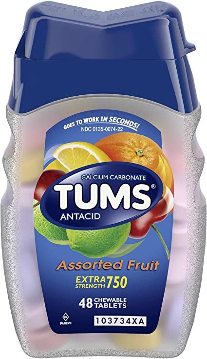 can you take tums for acid reflux