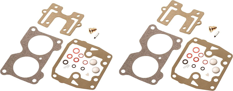 2pack Carburetor Rebuild Kit for Johnson Evinrude V4 85 90 100 115 125 140 HP US