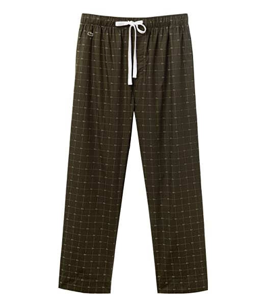 Pant Verde Lounge Uomo Amazon Pigiama Lacoste Pantaloni M 5U4wxq1Z1v