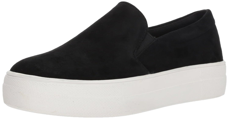 Steve Madden Women's Gills Fashion Sneaker B01KPKRGO2 5.5 B(M) US|Black Suede