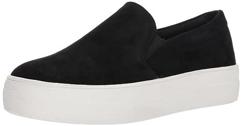 78b6557d645 Steve Madden Women s Gills Fashion Sneaker Black  Buy Online at Low ...