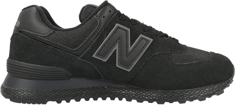 New Balance 574 Black Suede Adult